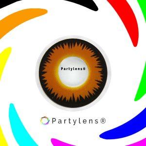 Orange Wolf - oranje contactlenzen Partylens®