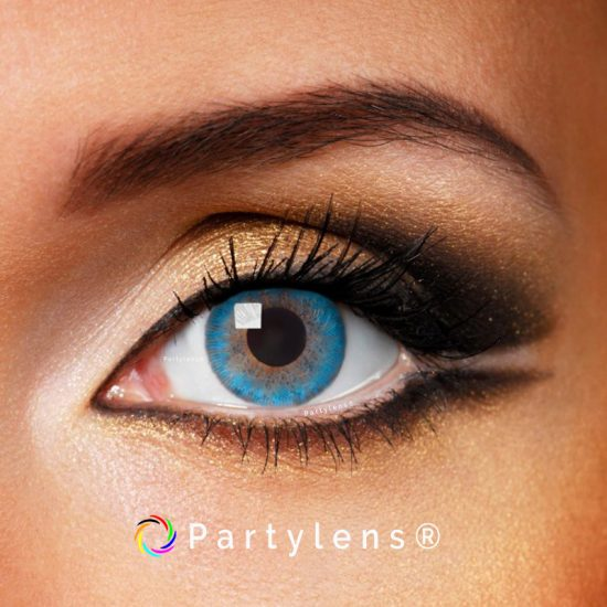 aqua blue contactlenzen Partylens®