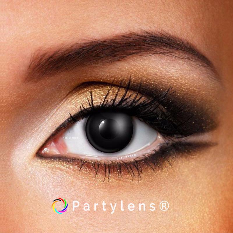 015d65e65bdec9 Black Out - zwarte contactlenzen Partylens® - Partylens