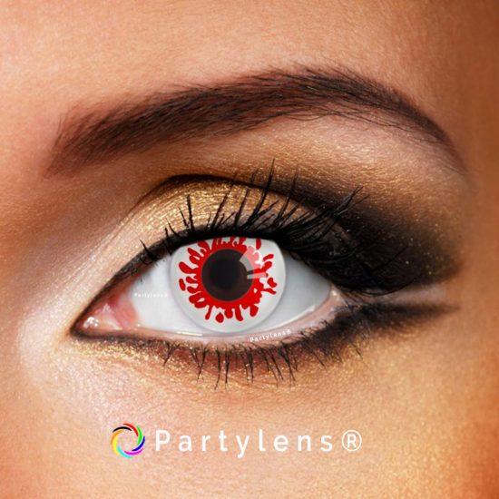 Bloedspetters contactlenzen www.partylens.nl