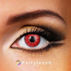 red spider kleurlenzen contactlenzen partylenzen www.partylens.nl