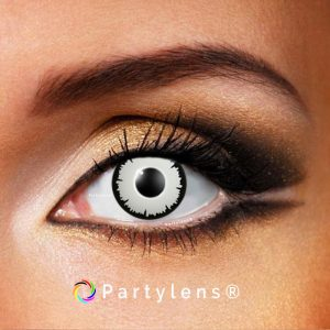 White Lestat contactlenzen www.partylens.nl