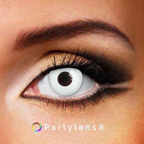 White Out contactlenzen - partylenzen - kleurlenzen