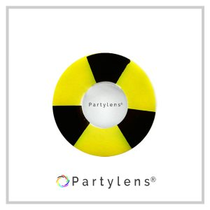 Bicolor Black-Yellow www.partylens.nl
