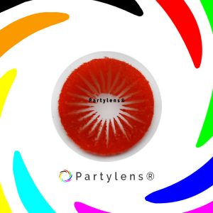 Red Star - rode contactlenzen Partylens®