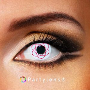 Atomic red - kleurlenzen Partylens®