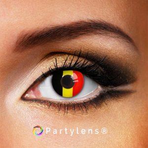 Vlag België - kleurlenzen Partylens®
