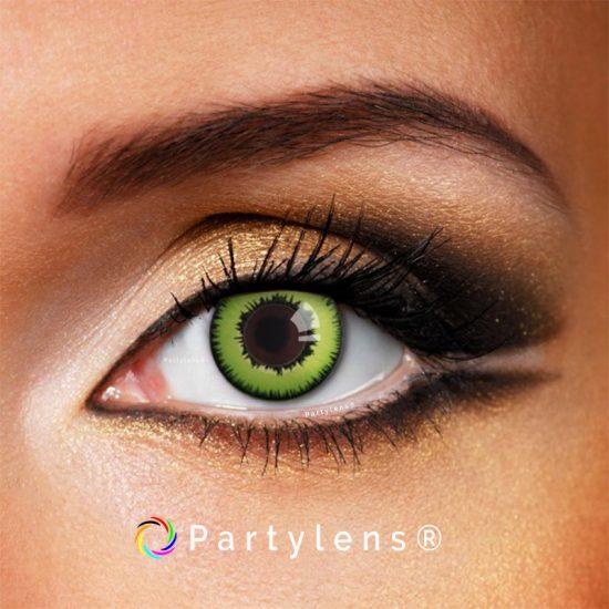 Green Wolf contactlenzen www.partylens.nl