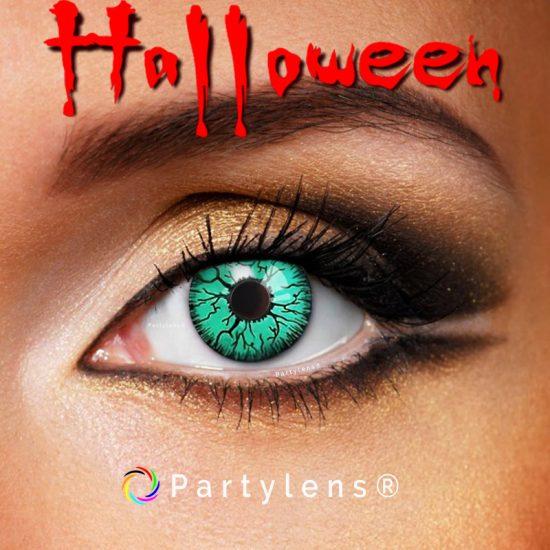 Vampier ogen groen