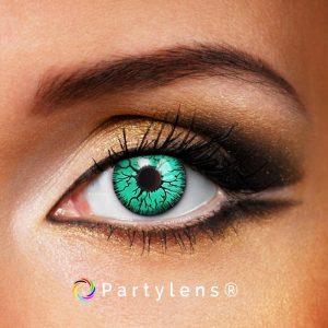 Vampier ogen groen www.partylens.nl