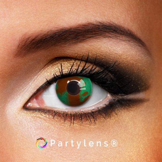 Legerprint - kleurlenzen Partylens®