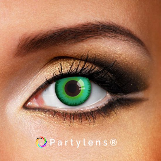 Magic Green contactlenzen www.partylens.nl