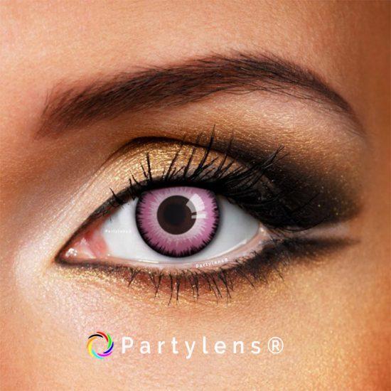 Magic Pink contactlenzen www.partylens.nl