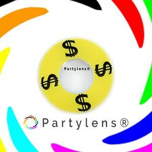 Partylens Dollar $ contactlenzen www.partylens.nl