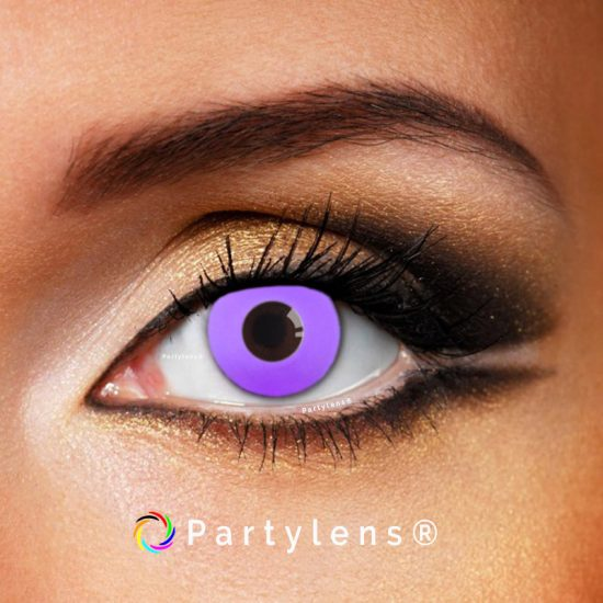 Purple Out contactlenzen www.partylens.nl