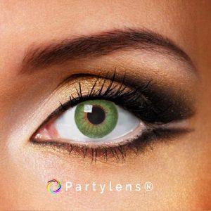 Shiny Green contactlenzen www.partylens.nl