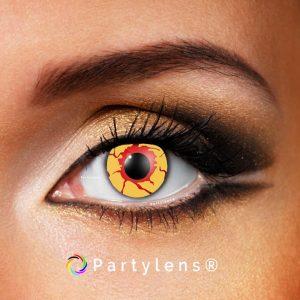 Bloed doorlopen ogen www.partylens.nl