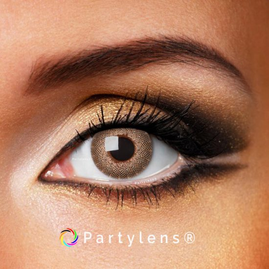 Fine Brown contactlenzen www.partylens.nl