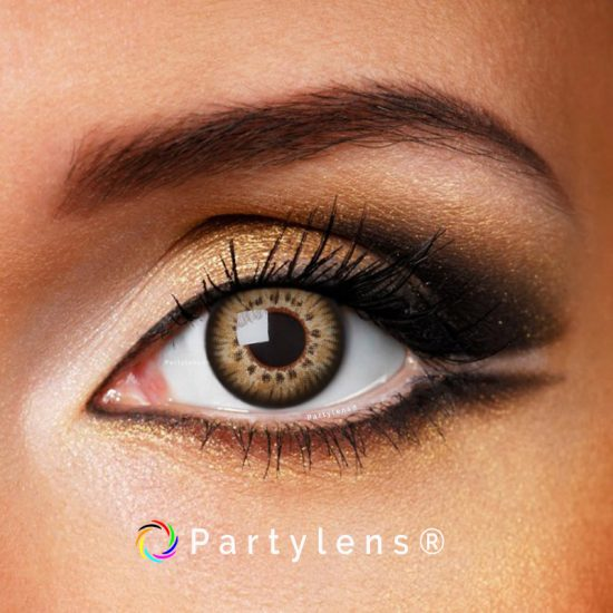 Glamour Brown contactlenzen www.partylens.nl