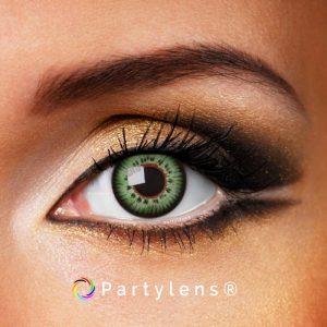 Glamour Green contactlenzen www.partylens.nl