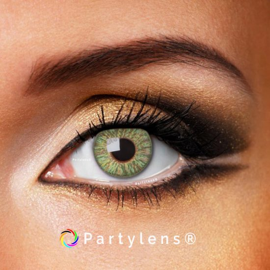 green passion kleurlenzen partylens contactlenzen