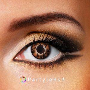 Sterbloem Bruin contactlenzen www.partlens.nl