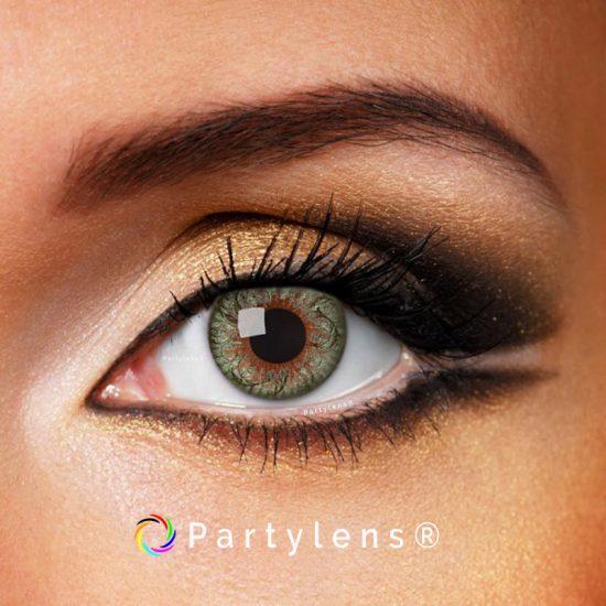 Twist Green contactlenzen www.partylens.nl