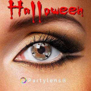 Spookje Wit contactlenzen www.partylens.nl